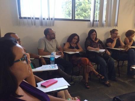Encontro de formação pedagógica